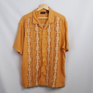 Ocean Pacific Hawaiian  Beach Shirt XL